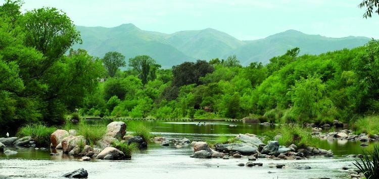 Los ríos de Santa Rosa de Calamuchita